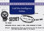 Cold War Intelligence Online