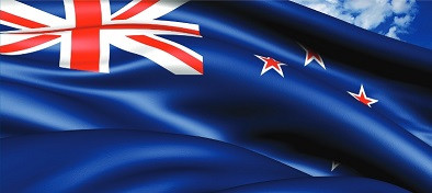 New Zealand flag logo