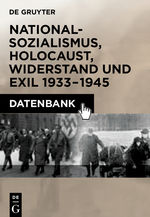 20th Century German History: National Socialism, Holocaust, Resistance and Exile, 1933–1945