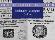 Book Sales Catalogues Online