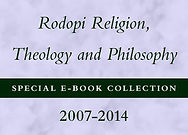 Rodopi Religion, Theology and Philosophy Special E-Book Collection, 2007-2014