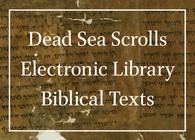 New from Brill: The Dead Sea Scrolls Electronic Library