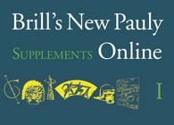 Brill's New Pauly Supplements Online I: 10% special discount until 10 July