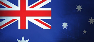 Australian flag logo