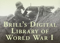 Brill's Digital Library of World War I