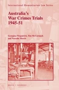 Book cover for 'Australia's War Crime Trials 1945-51'
