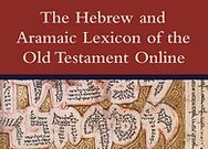 Hebrew and Aramaic Lexicon of the Old Testament Online