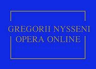 Gregorii Nysseni Opera Online
