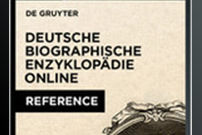 Dictionary of German Biography / Deutsche Biographische Enzyklopädie Online