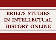 Brill's Studies in Intellectual History Online