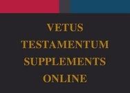 Vetus Testamentum Supplements Online