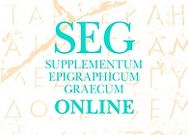 Supplementum Epigraphicum Graecum (SEG) Online