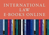 International Law E-Books Online