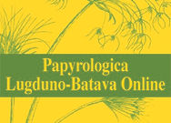 Papyrologica Lugduno-Batava Online