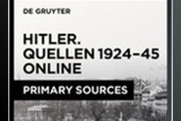 Hitler: Sources, 1924–1945 / Hitler. Quellen, 1924–1945