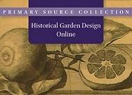 Historical Garden Design Online