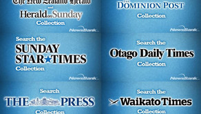 Now Available from NewsBank: Six Full-Image Newspapers from New Zealand