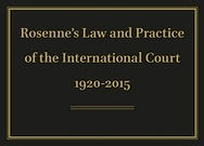 Rosenne's Law and Practice of the International Court: 1920–2015 Online