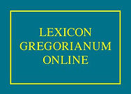 Lexicon Gregorianum Online