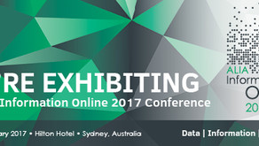 Visit Bezi at ALIA Information Online 2017 this February