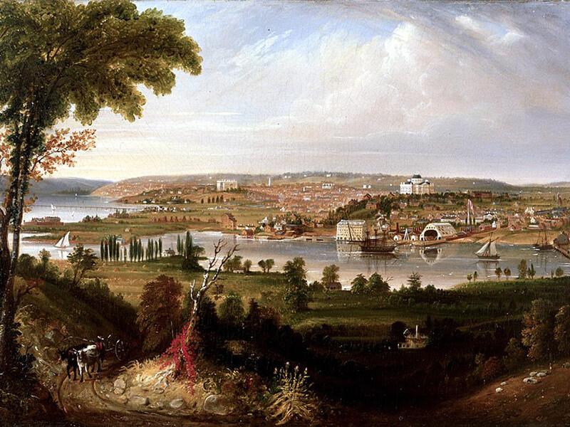 International relations between Britain and America, 1796–1848