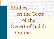 Studies on the Texts of the Desert of Judah Online