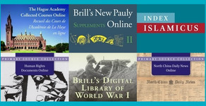 The Best New Releases from Brill in 2016