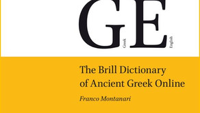 Introducing The Brill Dictionary of Ancient Greek Online