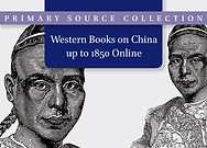 Western Books on China up to 1850 Online