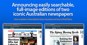 NewsBank: Image editions of The SMH + The Age