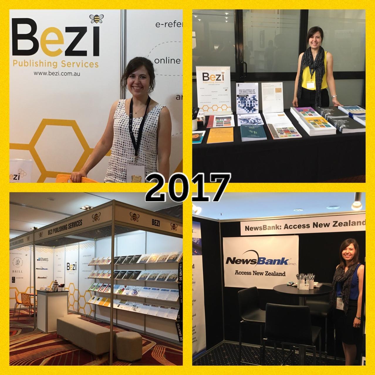 Scenes from ALIA Online 2017 + LIANZA 2017