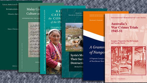 A selection of new and forthcoming titles from Brill