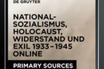 20th Century German History: National Socialism, Holocaust, Resistance and Exile, 1933–1945 / Deutsche Geschichte im 20. Jh.: Nationalsozialismus, Holocaust, Widerstand und Exil, 1933–1945