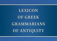 Lexicon Greek Grammarians of Antiquity