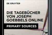 The Diaries of Joseph Goebbels Online / Die Tagebücher von Joseph Goebbels Online
