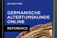 Old Germanic History Online / Germanische Altertumskunde Online
