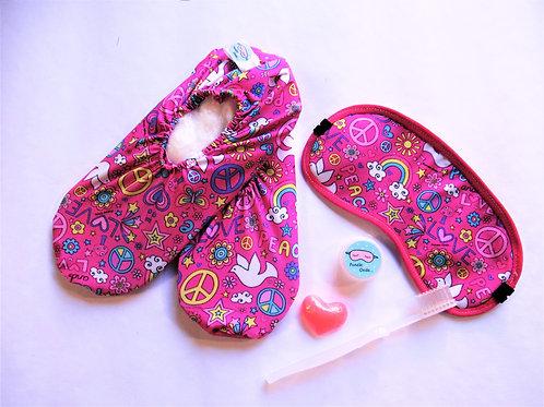 Kit Pijama Party Peace & Love