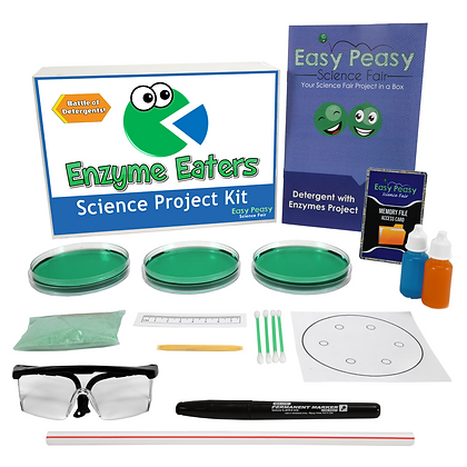 Enzyme Eaters - Science Project Kit