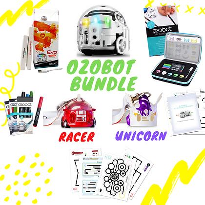 Ozobot EVO Racer or Unicorn Bundle