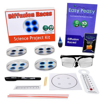 Diffusion Races - Science Project Kit