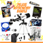 Astronomy Bundle with White Telescope co
