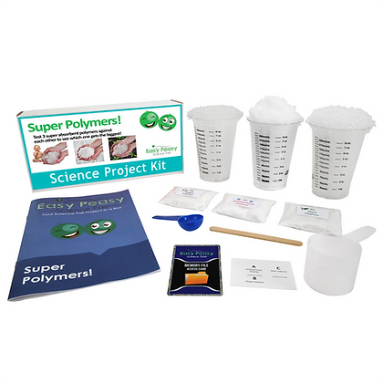 Super Polymers - Beginner Science Project Kit