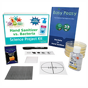 Bacteria vs Sanitizer - Science Project Kit