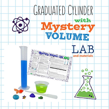 Graduated Cylinder with Mystery Volume Lab