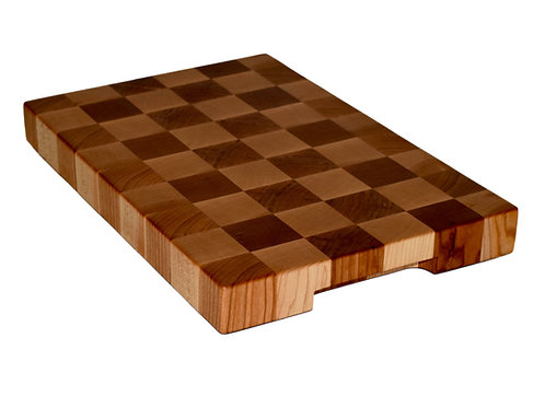 American Black Cherry & Sugar Maple Checkered End Grain Cutting Boards