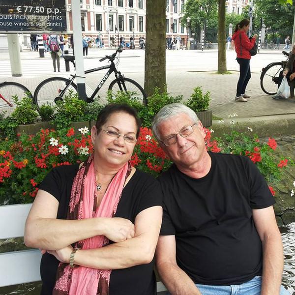 מיכה ונגה בטיול לאמסטרדם