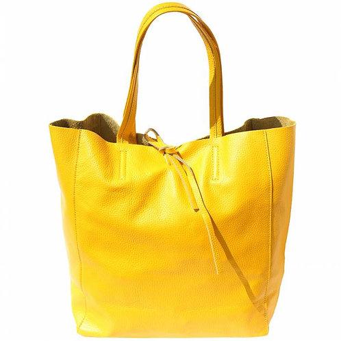 Babila leather bag yellow