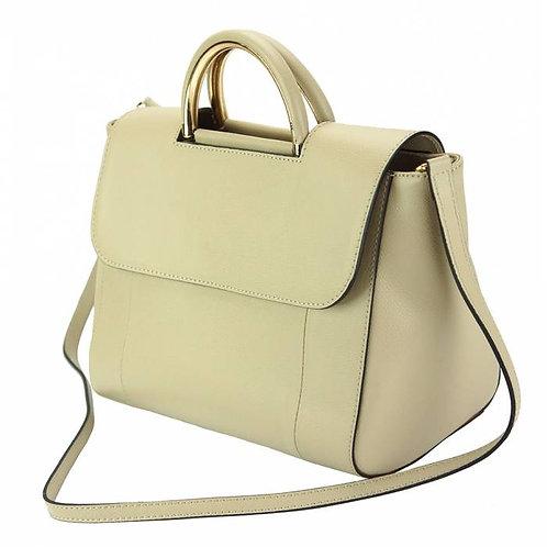 Melissa leather Handbag Taupe