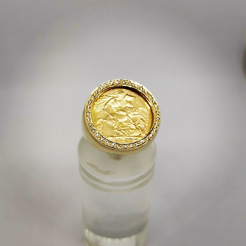 Sovereign Ring & Diamonds