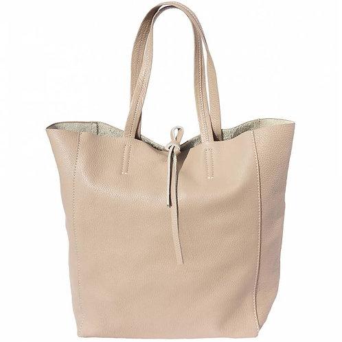Babila leather bag Taupe
